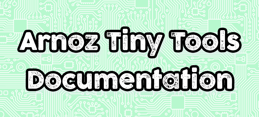 How-to Arnoz Tiny Tools (English)